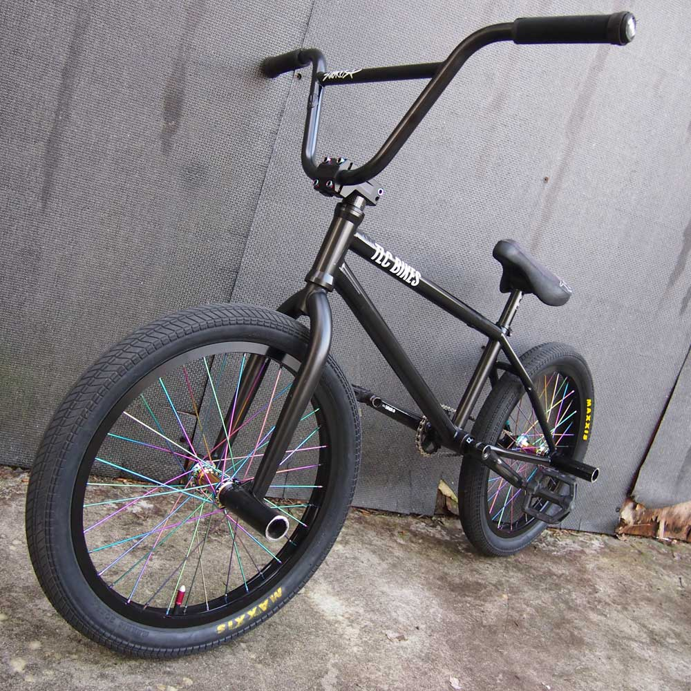 TLC BIKES Black and Rainbow BMX Build