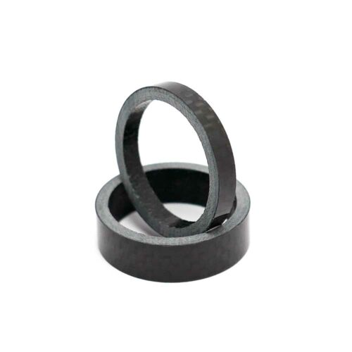 TLC BIKES Carbon Fiber Headset Spacers - 5mm and 10mm