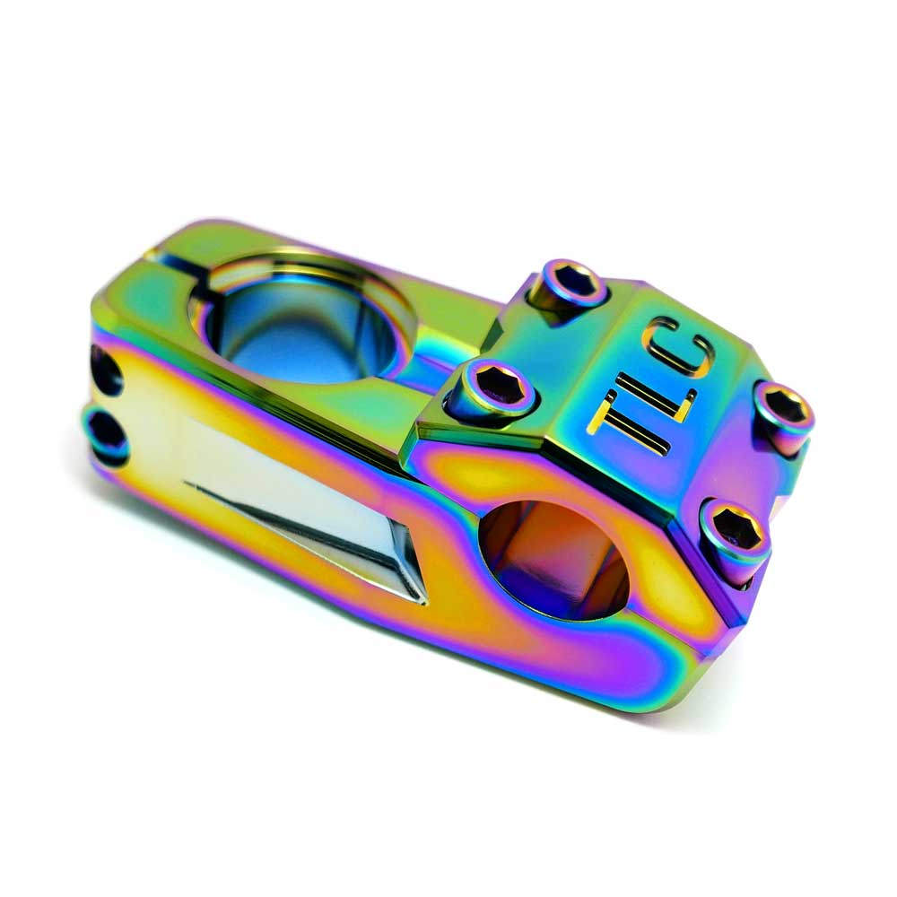 TLC BIKES Altum Top Load BMX Stem - Rainbow