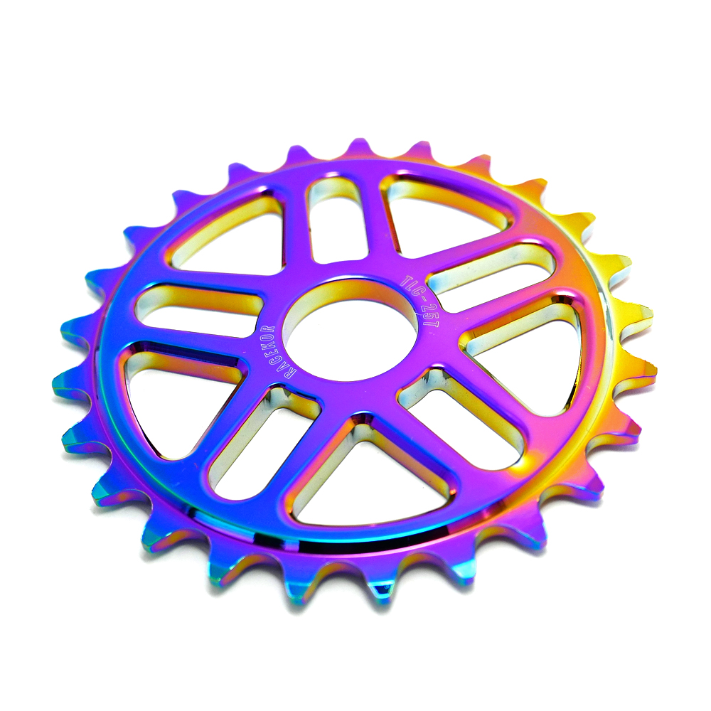 TLC 25T Racekor Sprocket - Rainbow, Oilslick