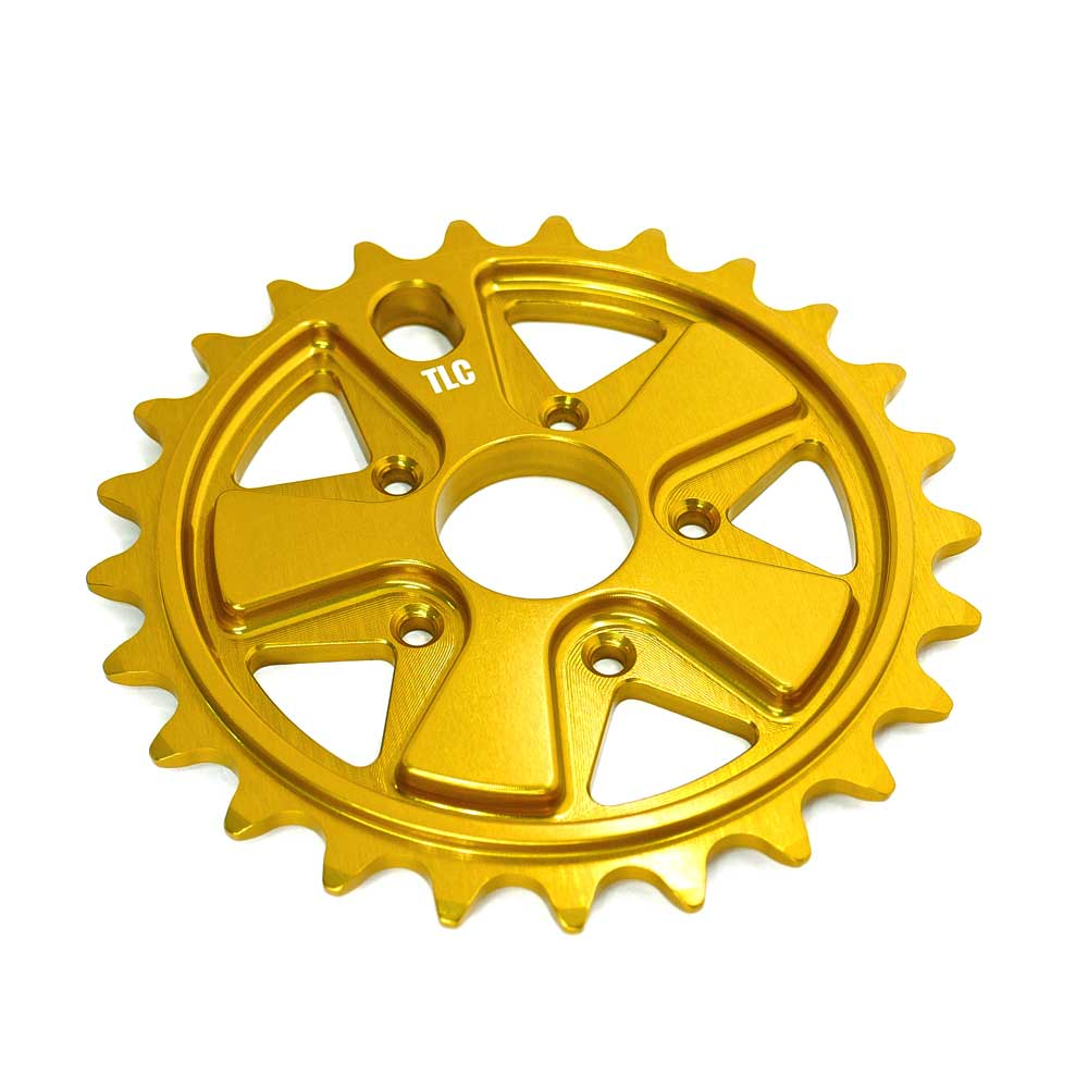 TLC Vintage BMX Sprocket - Gold