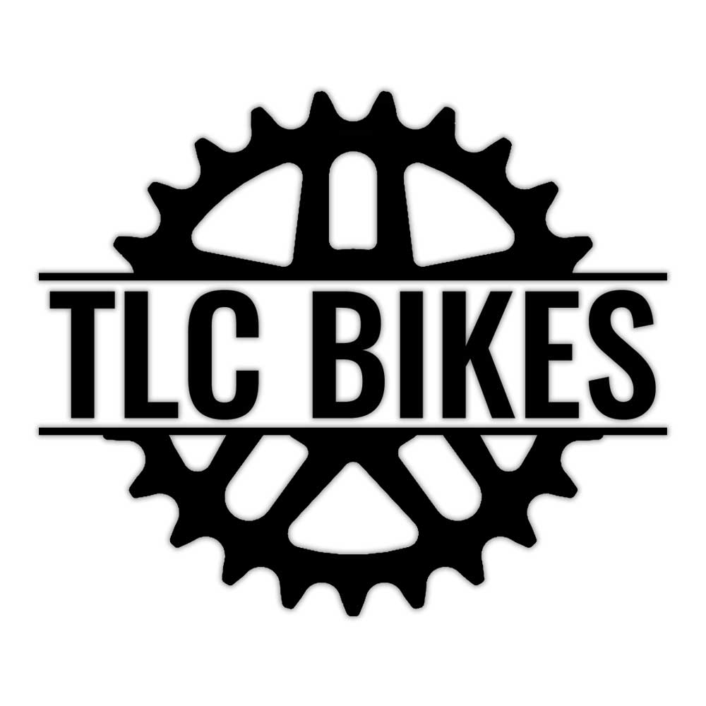 TLC BIKES Logo BMX Sticker - Black