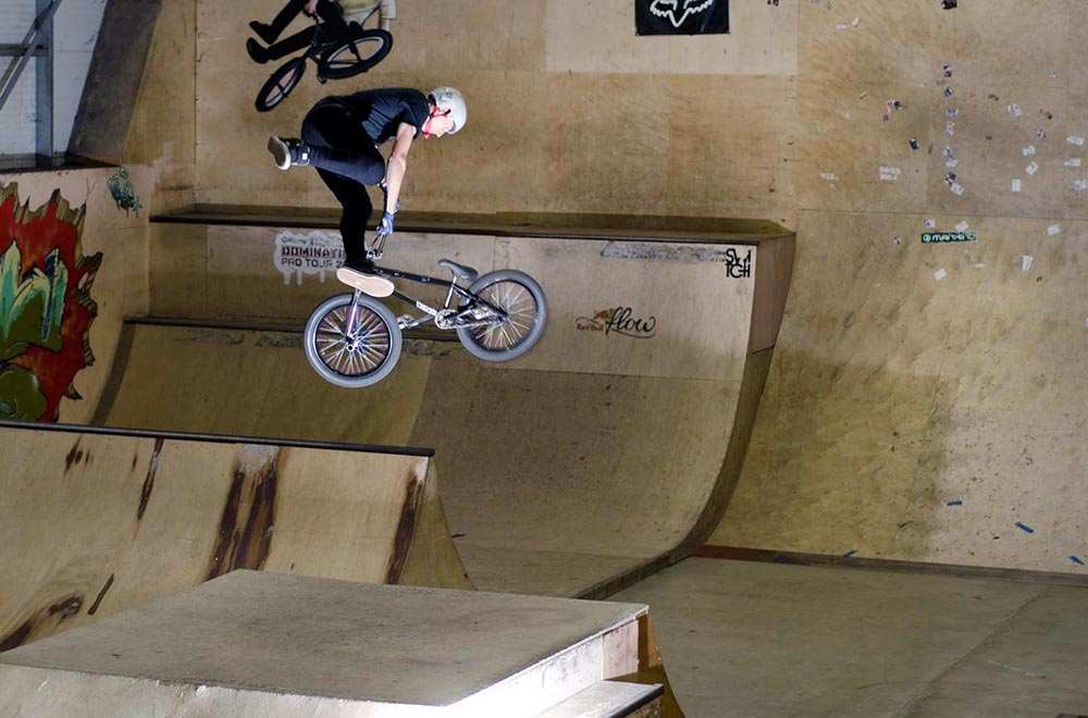 TLC BIKES Callum Argent 360 Tailwhip at Legacy XS Skatepark