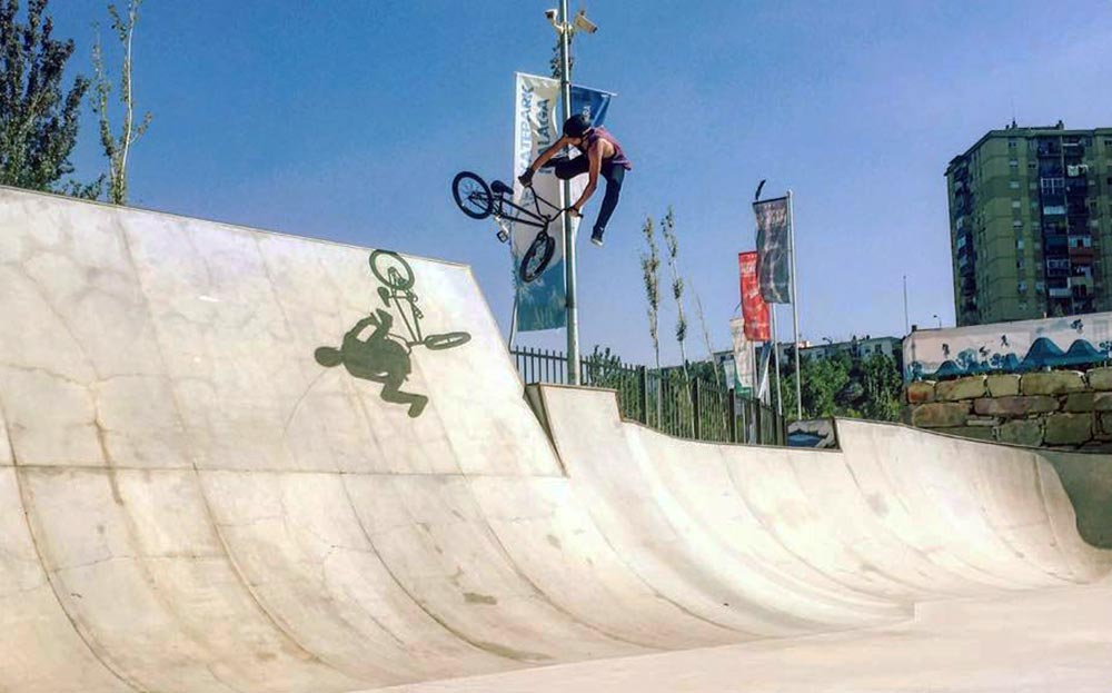 TLC BIKES Callum Rafferty Downside Tailwhip