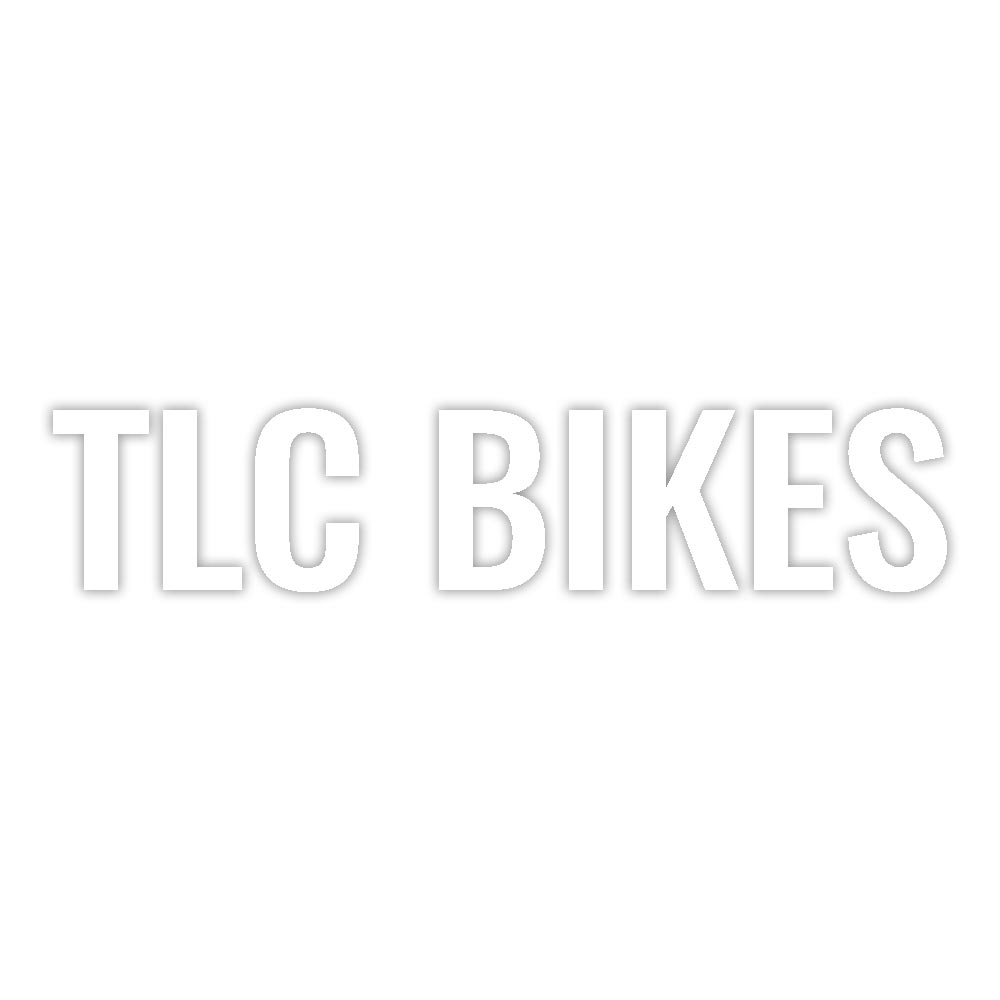 TLC BIKES BMX Frame Sticker - White