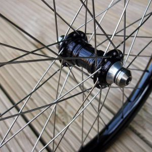 TLC BIKES Stainless Spokes, Alloy Nipples and Titanium Hub Bolts 3