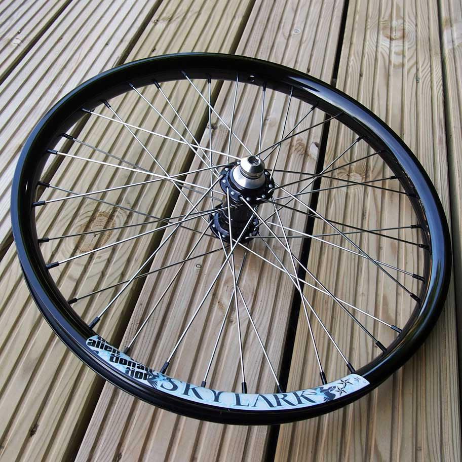 BMX Wheel Build - TLC BIKES Stainless Spokes, Alloy Nipples and Titanium Hub Bolts