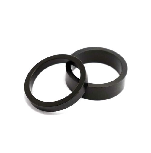 TLC BIKES Alloy BMX Headset Spacers - Black
